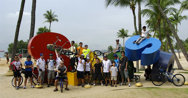 Lovecycling in Sentosa, Sunday 2010-10-31