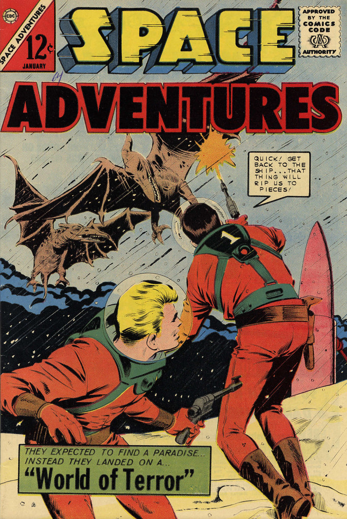 Space Adventures #55 (Charlton, 1964)