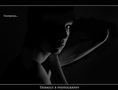 Thinking... (Thibault B Photography) Tags: light cactus blackandwhite white selfportrait black france macro eye photoshop grenoble myself studio 50mm aperture nikon focus key raw dof view autoportrait noiretblanc bokeh map lumire background flash low tripod moi oeil portraiture micro 60mm nikkor lowkey vivitar speedlight blanc vue softbox manfrotto pdc cls macrophotography isre trepied nikkor60mm nikkor50mm macrophotographie strobist nikoncls sb900 manfrotto190xprob portraitstrobist d300s nikonsb900 kf36 nikond300s
