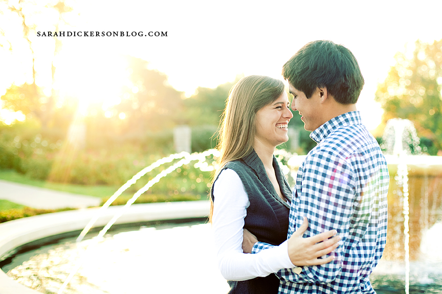 Loose Park engagement photography, Kansas City