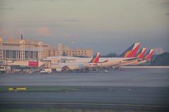 philippines air line (Rhannel Alaba) Tags: blue sky lens airplane landscape photography nikon air philippines terminal line mm 105 18 runway d90 alaba rhannel