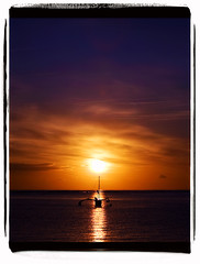 5 Days In May (Clayton Perry Photoworks) Tags: usa silhouette sunrise hawaii boat silhouettes lanikai outrigger