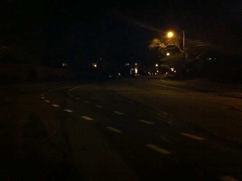 New Wilkins Ave bike lane