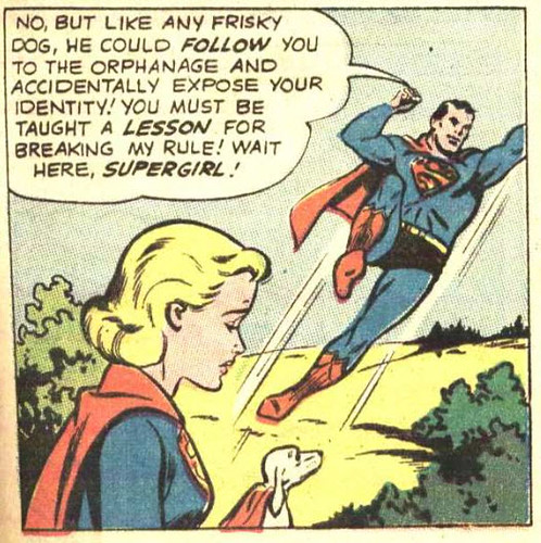 supergirl is banished