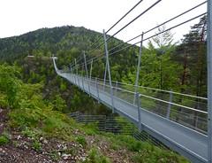 Highline179. Suspension Bridge B179, Reutte, Austria. (elsa11) Tags: highline179 hängebrücke hangbrug suspensionbridge reutte tirol tyrol austria österreich oostenrijk fortclaudia ruineehrenberg highline