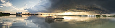 backcreekpano (JamesMertz) Tags: piney point storm bay river potomac washington dc maryland fishing oil tanks oysters floats