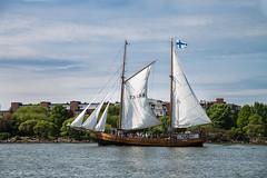Galleass Astrid (jptoivon) Tags: katajanokka wind sunny nikon d800 old halkolaituri helsinki sea summer ship ts488 galeass view finland cruise 2017 sailing autofocus