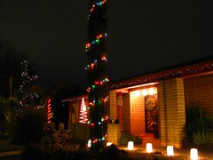 Happy Holidays! (zoniedude1) Tags: christmas decorations arizona phoenix yay xmaslights happyholidays tistheseason saguarocactus myfrontyard zoniedude1 onlyinarizona azwholidaylights desertlandscapebyme xmaslightsoncactusouch ihavearealchristmastree