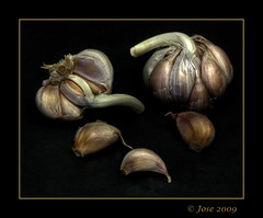 Allium sativum (Josepargil) Tags: bodegn texturas ajos dientesdeajo josepargil