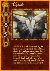 """Cupido"" role card from my home-made Werewolf mega-set"