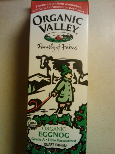 Eggnog review: Organic Valley Eggnog