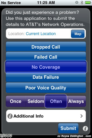 AT&T iPhone Error Reporting 1