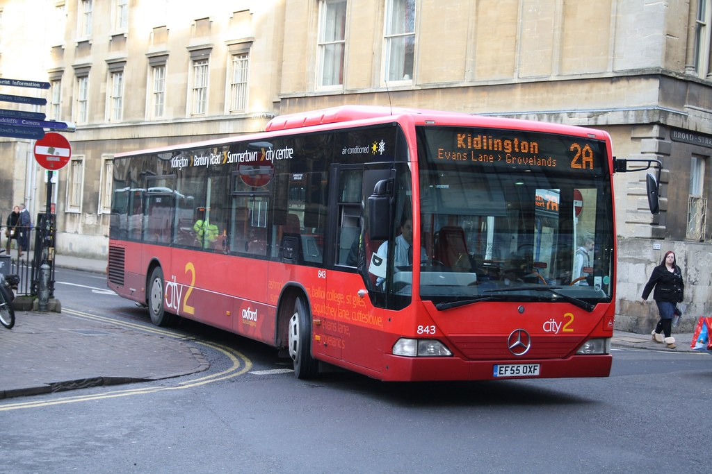 843 EF55OXF OXFORD BUS 281209