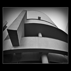 MACBA - ii (ferran.pons) Tags: barcelona city bw architecture curves sigma bn richardmeier macba museums 1020 wpp museudartcontemporanidebarcelona