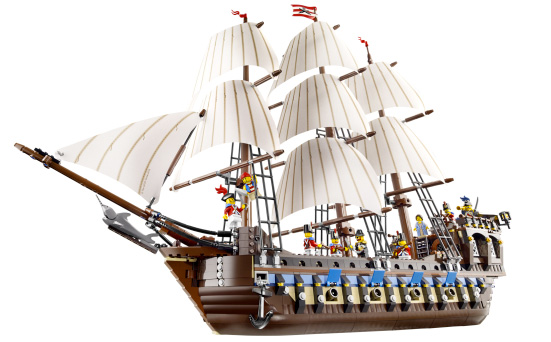 2010 LEGO Pirates 10210 Imperial Flagship