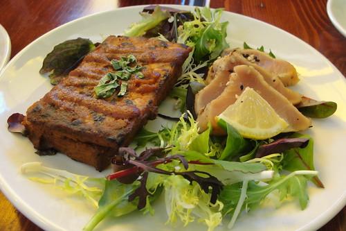 BBQ Tempe and Tataki Tuna