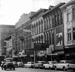 Main Street West of 8th - 1960