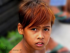 Sea Urchin (mang M) Tags: boy portrait philippines urchin paranaque fisherboy mangmaning2000 reddishbrownhair mangm