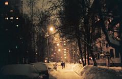 Снег лежит (mariapiessis) Tags: color film stpetersburg russia olympus om2 sanktpeterburg