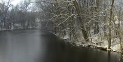 Huron River long exposure