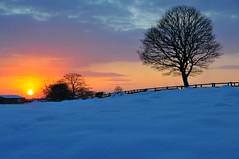 UK Freeze Jan 2010 Sunset Hopwood (Tranquility Base) Tags: winter sunset snow nikon d300 18200mm top20sunsetsofourhearts