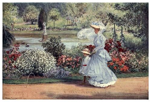 009-El jardin botanico en Sydney-Australia (1910)-Percy F. Spence