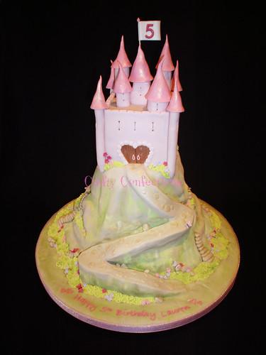 Enchanted castle Birthday cake