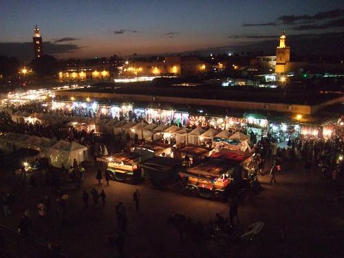 Place Djeemaa El Fna, Marrakech
