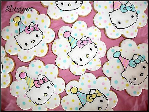 Hello Kitty Cookies...