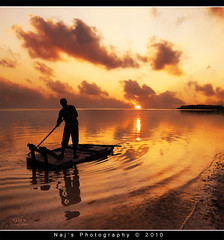 Self discovery (Naj ( Desired Hopes  )) Tags: life trip sunset get reflection beautiful clouds last lost photography colours bend quotes raft framing maldives discovery 2010 understand naj hindham