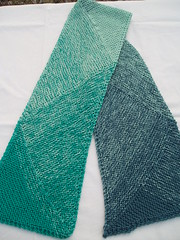 005 Teal Deal Scarf