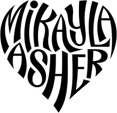 """Mikayla"" & ""Asher"" Heart Design"