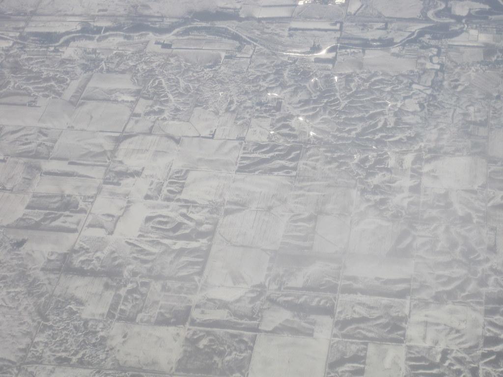 Snow on the high plains