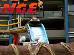 Pirates Plunge (Sarah_Ackerman) Tags: carnival classic vintage sydney australia amusementpark lunapark rides midway funfair logride piratesplunge