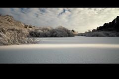 Absence Of Talking (jasontheaker) Tags: uk winter england snow ice landscape yorkshire reservoir workshop swinsty fewston jasontheaker