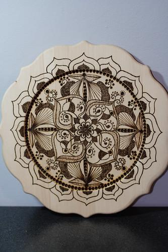 Mandala plates10002