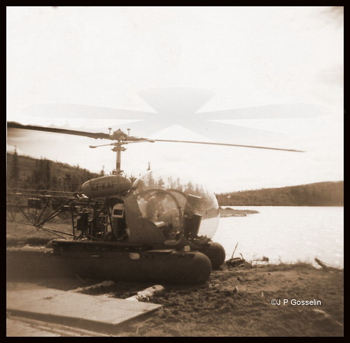 MOUNT WRIGHT  |  MONT WRIGHT  |   BELL 47 HELICOPTER  | DIAMOND DRILLING  |    Fermont  |  Quebec  Cartier Mining Company   |  QCM  |  Quebec  | 1965-1966  | Exploration   |    CF-KAF