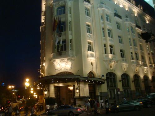 Vista exterior del Hotel Palace