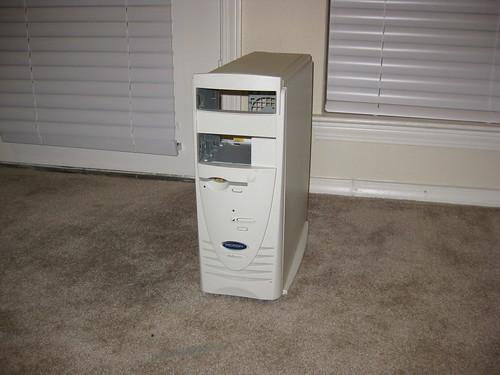 Repurposed Computer - Book Case