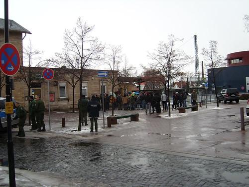 Touristen Zentrum am Bahnhof