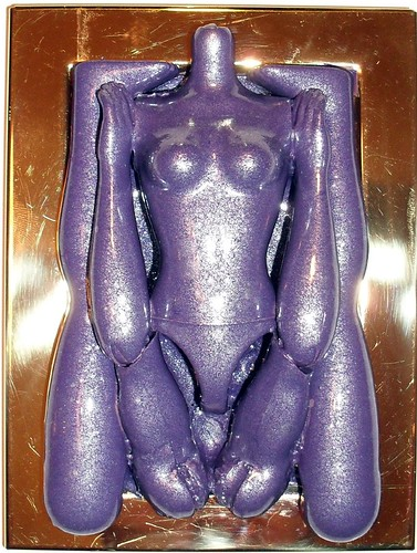 Purple Metallic Doll Parts