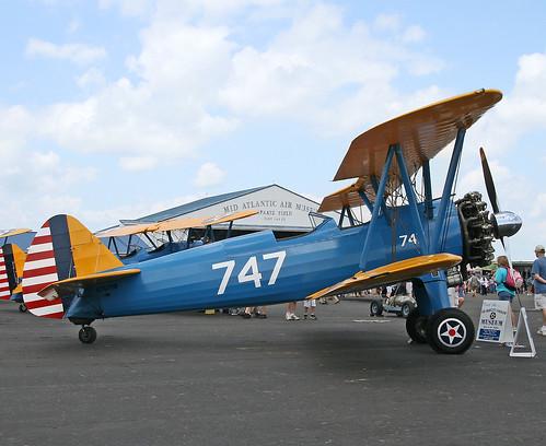 """Boeing B75N1 PT-17 Kaydet """"Stearman"""" (N747RB)"""
