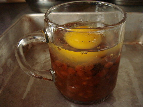 Boston Baked Beans Layered With Egg