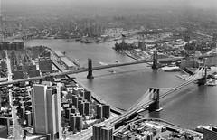 NYC 1980 (fotoren) Tags: nyc ny newyork worldtradecenter brooklynbridge manhattanbridge eastriver wtc