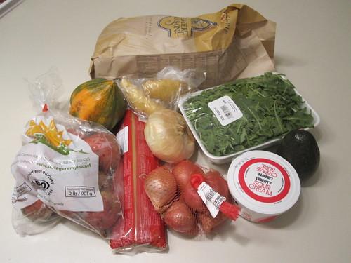 Groceries from marché Maisonneuve - $20.10