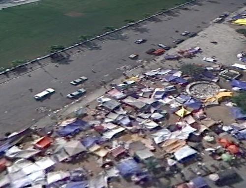 Google Earth - Angle View Of Haiti Earthquake Damage