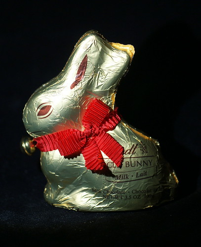 Lindt Milk Chocolate Gold Bunny - Full View
