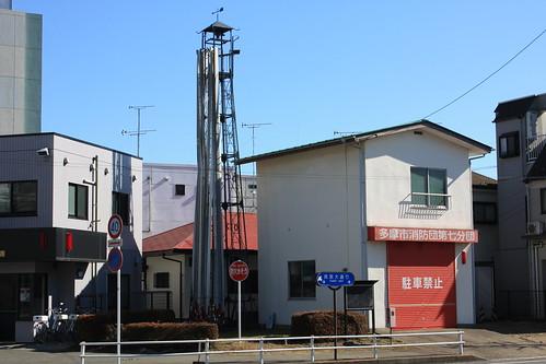 乞田の火の見櫓