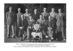 Williamson Cliffe Bowls Team 1950