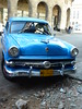Cool blue chevrolet!